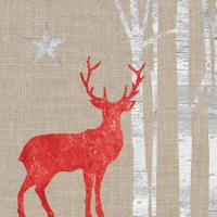 Lunch Servietten Mystic Deer linen