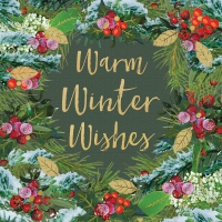 Servietten 33x33 cm - Winter Wishes