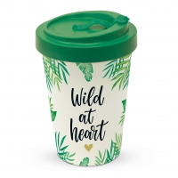 Bamboo mug To-Go - Wild at Heart