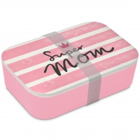Bamboo Lunchbox - Super Mom