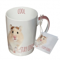 Porzellan-Tasse - Stay Cool