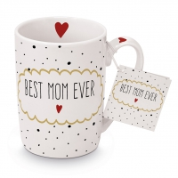 Porzellan-Tasse - Best Mom