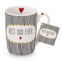 Porzellan-Tasse - Best Dad
