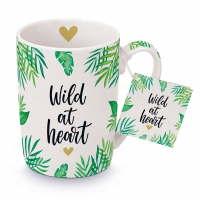 Porzellan-Tasse - Wild at Heart