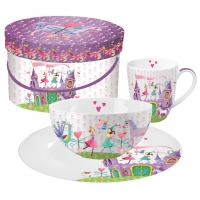 Breakfast Set - Princess Castle