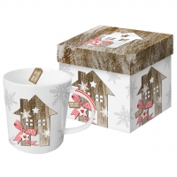 Porzellan-Henkelbecher Trend Mug GB Country Xmas Home