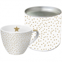 +*)Porzellan-Tasse The Star Money