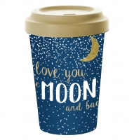 Bamboo mug To-Go - Moon Love