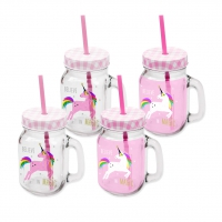 Party Tumbler - Pink Unicorn