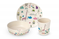 Bambus Kinder Set - Bamboo Childrens Set Lalaland