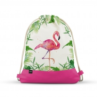 City Bag - Tropical Flamingo