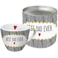 Porzellan-Tasse - Best Dad Ever