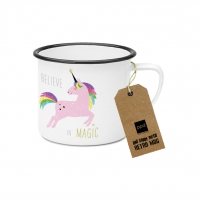 Metal Cup - Pink Unicorn