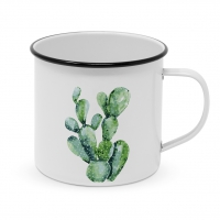 Metal Cup - Happy Metal Cactus