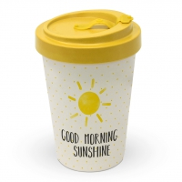 Bamboo mug To-Go - Good Morning Sunshine