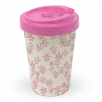 Bamboo mug To-Go - Pretty in rosé