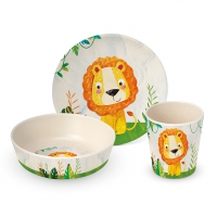 Bambus Kinder Set - Happy Lion