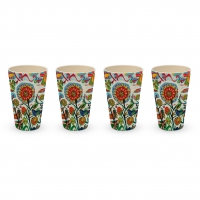 Bambus Schalen - Bamboo Tumbler Quito Set of 4