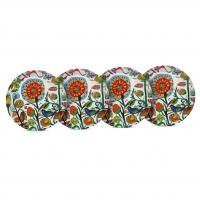 Bambus Teller - Bamboo Plates Quito Set of 4