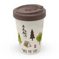 Bamboo mug To-Go - Into the wild