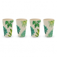 Bambus Becher - Tumbler Jungle Set of 4
