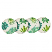 Bambus Teller - Plates Jungle Set of 4