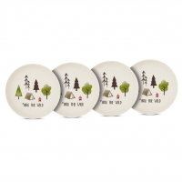 Bambus Teller - Into the wild Set of 4