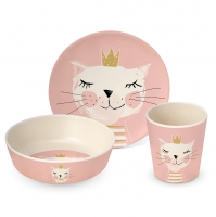 Kinder Set - Children Set Happy Cat