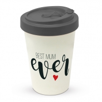 Bamboo mug To-Go - Travel Best Mum ever