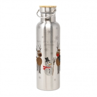 Edelstahl Trinkflasche - Cold Outside Steel Bottle 0,75