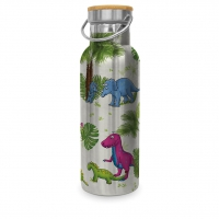 Stainless steel drinking bottle - Dinos