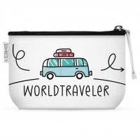 Makeup Bag - Worldtraveler