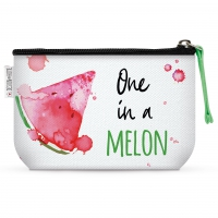 Makeup Bag - One in a melon