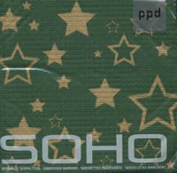 Lunch Servietten SoHo Starlight green/gold