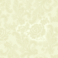 Lunch Servietten Lace embossed ivory