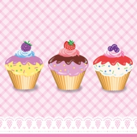 Servietten 33x33 cm - Party Cupcakes