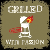 Lunch Servietten Grilled Withe Passion khaki