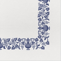 50 tissue napkins 40x40 cm - Country Blue