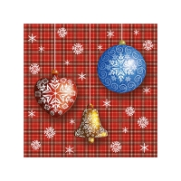 20 Servietten 25x25 cm - X-mas Celebration
