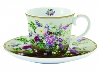 Espresso Tasse ESPRESSO CUP AND SAUCER IN COLOR BOX