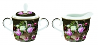 Porzellan Milch & Zucker SET CREAMER & SUGAR BOWL IN COLOR BOX