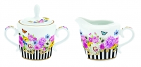 Porzellan Milch & Zucker SET CREAMER AND SUGAR BOWL IN GIFT BOX