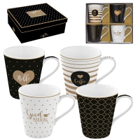 Set Tassen 300ml - Coffee Mania - CMGM