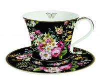 Tee-Tasse mit Untertasse SET TEA C&S IN COLOR BOX