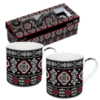 Porzellan-Tasse - Global Ethnic Incas