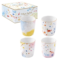 Porcelain Cup - Color Spash