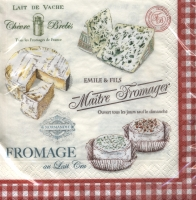 Lunch Servietten Maitre Fromager