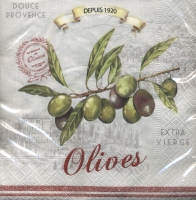 Lunch Servietten Olives