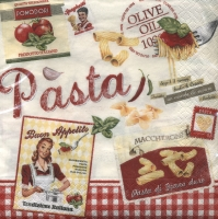 Lunch Servietten Vintage Home Collection Pasta