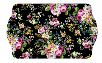 Tablett BLOOMING OPULENCE BLACK